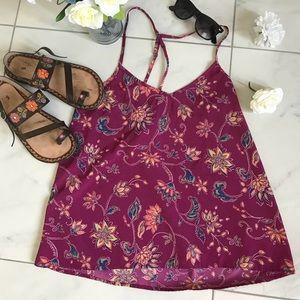 Hollister Floral Tank🌺